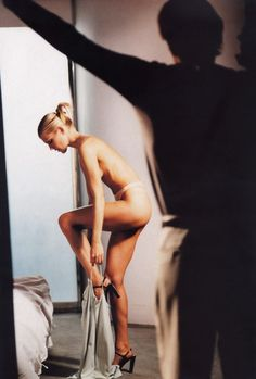 """Basic Instinct"", Arena UK, April 1998Photographer : Daniela FedericiModel : Tricia Helfer"