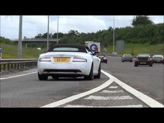 50 Supercars acclerating | M6 Toll Supercar Charity Event | Toll Plaza Accelerations
