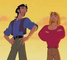 I am Miguel. And I am Tulio. And they call us Miguel and Tulio! Love The Road to El Dorado Dreamworks Movies, Dreamworks Animation, Disney And Dreamworks, Animation Film, Disney Pixar, Walt Disney, Disney Love, Disney Magic, Love Movie