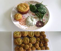 Recipe Quick & Tasty Cheese, Pumpkin, Baby Spinach and Bacon Muffins - One bowl by natbot - Recipe of category Baking - savoury
