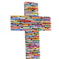 Onwijs De 29 beste afbeeldingen van knutselen kruis | Kruis, Knutselen WS-28