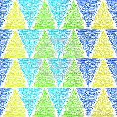 Colorful scribble triangles geometric pattern. Seamless Tile. You saved to My Seamless Patterns Doodle pine triangles (C) Celia Ascenso 2017
