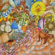 Instagram media martapanus - #relax #mindfulness #coloring_for_adults #colorful #coloringbook #themagicalcity #themagicalcitycolouringbook #kolorowanka #kolorowankaantystresowa #kolorowankidladorosłych #coloring_pages #coloring_masterpiece #coloring_masterpieces #colouringpencils #pencils #derwentcoloursoft #derwentpencils #whsmithpencils #bruynzeelpencils #beautifulcoloring