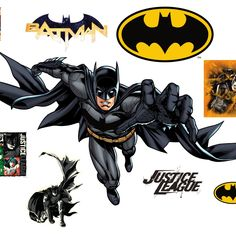 Put your passion on display with a giant Batman: Attack -The New 52 - Life-Size Officially Licensed DC Removable Wall Decal Fathead wall decal! Batman Batcave, Batman And Superman, Custom Wall Decals, Removable Wall Decals, Batman Cookies, Batman Party, New 52, Wall Stickers Murals, Kids Decor
