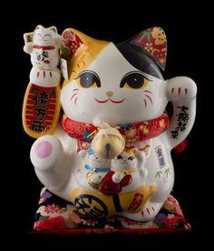 Grande-tirelire-Chat-japonais-Bobtail-Maneki-neko-en-Porcelaine-27-5cm-555