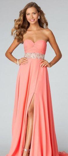 Cute Natural Sleeveless Floor A-Line Chiffon Evening Dress Sale prom dress prom dresses tkzdresses45206drhjrt #prettydresses #promdress