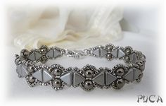 Linda's Crafty Inspirations: Camille Bracelet Variation with Kheops® Par Puca® beads