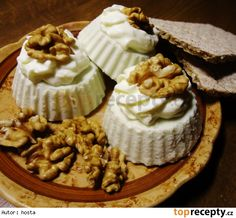Nivová pomazánka se šlehačkou Cheesecake, Recipes, Food, Spreads, New Years Eve, Cheesecakes, Essen, Meals, Eten