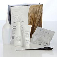 Kelly van gogh master blend multidimensional hair colour kit.