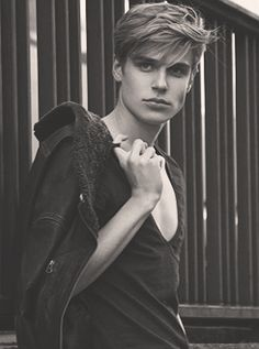 """jul-l-amazone: """" Tim Borrmann is really the IT boy of the moment. With such jawline, I'm all for him all over my dash. """""""