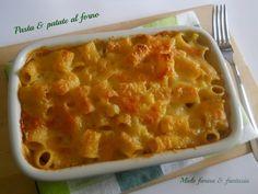 pasta e patate al forno di Miele farina & fantasia