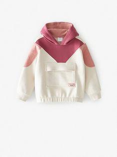 Special price girls' clothing at ZARA online. Fashion Kids, Sport Fashion, Fashion Outfits, Baby Outfits, Kids Outfits, Cute Outfits, Mode Abaya, Hooded Sweatshirts, Hoodies