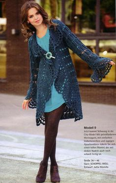 Loving this bee-u-ti-ful Crochet Jacket; SwEEt Inspiration!