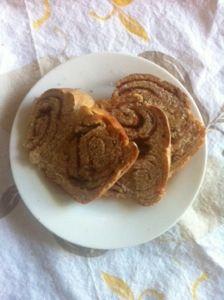 Cinnamon swirl bread! Via the hungry homemaker blog.