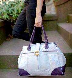 Cassia Weekender / CanopyVerde {adorable weekender bag made with #organic and #animalfree leather!} #bag