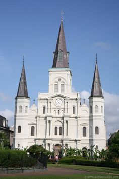 St Louis Cathedral New Orleans - two of my friends were married in the park in front of this church