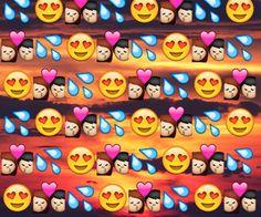 dope emoji galaxy background - Google Search | Emoji Backgrounds ...