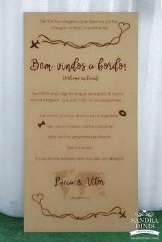Placa entrada na quinta viagens para casamentos Bullet Journal, Personalized Items, Licence Plates, Weddings, Viajes, Entryway