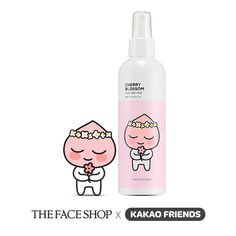 The Face Shop Jewel Therapy Cherry Blossom Clear Hair Mist Apeach Kakao Friends