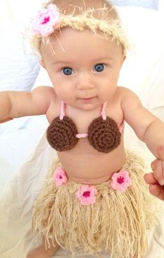 Hey, I found this really awesome Etsy listing at https://www.etsy.com/listing/160874766/baby-girl-or-toddler-hawaiian-hula