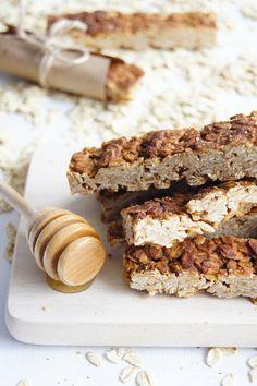 Proste batony granola (3 składniki) - Wilkuchnia