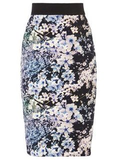 Spring Fashion 2015 - Coast Cherry Blossom Scuba Skirt