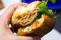 Hamburguesa de Cordero - Lamb Burger with homemade Merguez