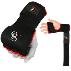 Be Smart Gel Padded Gloves Wrap Inner Hand Wrap boxing bag Fist Padded MMA UFC M
