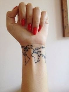 World map, (this is pretty cool)