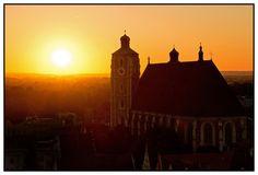 Das Münster bei Nacht-Ingolstadt Big Ben, Germany, Display, Building, Travel, Beautiful, Photos, Ingolstadt, Bavaria