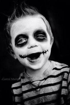cute little zombie for kids halloween makeup Holidays Halloween, Halloween Make Up, Halloween Decorations, Halloween Party, Halloween Costumes, Joker Halloween, Halloween Makeup For Boys, Kids Zombie Makeup, Halloween Dress Up Ideas