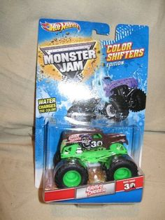 Hot Wheels Grave Digger Color Shifters Edition by Hot Wheels. $15.99. Grave Digger. color change. Hot Wheels. Color shifters. Hot Wheels Color Shifters Edition. Grave Digger 30th Anniversary. Monster Jam. Water changes the color! (Not for use with Hot Wheels sets). Save 60%! Play Vehicles, Monster Jam, Digger, 30th Anniversary, 5th Birthday, Diy For Kids, Games To Play, Hot Wheels, Color Change