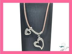 Precious cork necklace with hearts  Portuguese Cork by CozyDetailz, $25.00