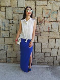 ne giydim yazlık kombin önerisi ne giysem style blog moda blogları stil blogları life style blog moda bloggerı en iyi moda blogları gleam fashion pembe ruj Ne Giydim / Maxi Yırtmaçlı Etek