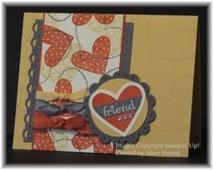 I {Heart) Hearts by stampercamper - Cards and Paper Crafts at Splitcoaststampers