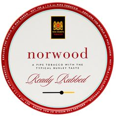 Tinned Pipe Tobaccos: Mac Baren Norwood 100g at Smokingpipes.com