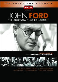 Available in: DVD.Sony Pictures Home Entertainment, The Film Foundation and Turner Classic Movies partner to present John Ford: The Columbia Films Turner Classic Movies, Classic Films, Westerns, The Quiet Man, Francois Truffaut, Talking T, John Ford, Making A Movie, Hooray For Hollywood
