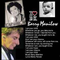 Edna Manilow, Baby Barry Alan Pincus and Barry Manilow.