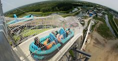 Verruckt, the world's tallest water slide, is now open to the public in Kansas City.