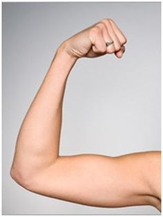 Do I admit that I want to work on this?  Maybe someone else does too.....soo.....I'll humble myself - 4 Best Home Exercises for those Flabby Arms
