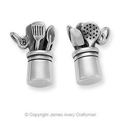 would like one of these for my charm bracelet...Culinary Charm from James Avery