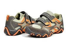Dream Pairs GLY4183 Boy's Athletic Velcro Strap Light Weight Memory Foam Insole Sneakers Shoes Brown-Orange Size 13 - http://all-shoes-online.com/dream-pairs/13-m-us-little-kid-dream-pairs-gly4108-gly9297-boys-19