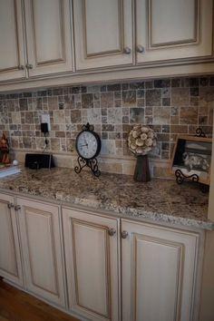 Dark beige Kitchen