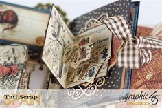 Tati, Hallowe'en in Wonderland., Magical Book, Product by Graphic 45, photo 19