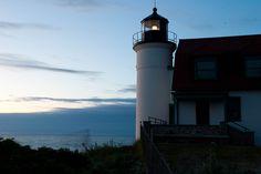 Lighthouse at Dusk by Matt Dolan on 500px