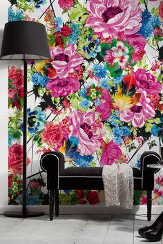 Romantic Pop Wall Mural   DECOR8TION-ideazDECOR8TION-ideaz
