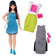 Barbie® Fashionistas™ 38 So Sporty Doll & Fashions - Curvy  - Shop.Mattel.com