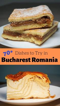 Traditional Romanian Food - dishes that are not to be missed on a visit to Romania. From our favorite Romanian Soups, Cured and Roasted Meats and Traditional Romanian Desserts, there is something for every taste in Romania! Baking Recipes, Soup Recipes, Vegetarian Recipes, Chicken Recipes, Dessert Recipes, Dinner Recipes, Romanian Desserts, Romanian Recipes, Turkish Recipes