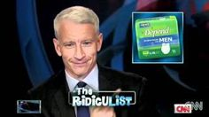 forever sharing this little gem :) I adore this man <3  :::  Anderson Cooper Breaks Into Laughing Fit, via YouTube.