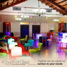 We wish to achieve the most comfortable environment for your event, adapting to the different styles and ideas you present to us. We have an ample variety of high-quality and modern furniture, that create a relaxed and comfortable setting for any kind of social and commercial event.  #event #planning #atc #ATouchOfClass #rental #EventProduction #decor #Miami #weddings #Events #EventPlanner #CorporateEvents #Bride #Quinces #PartyRental #Decoration #PartyIdeas #CoralGables #weddingplanner…